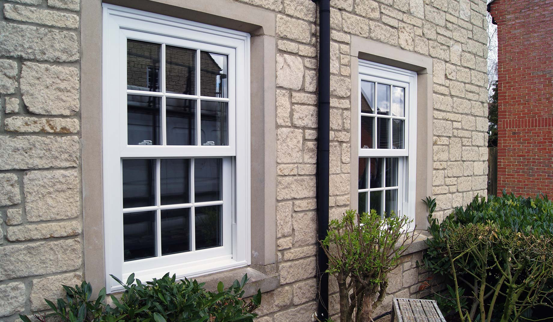 Triple Glazing Sliding Sash Windows Dorset