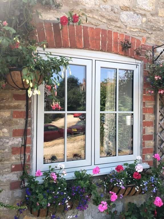 Timeless Collection flush sash window project