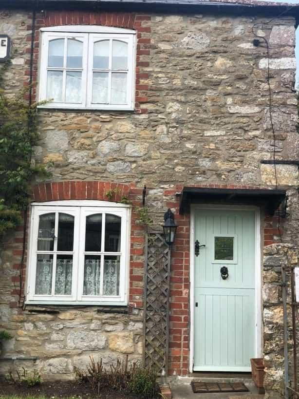 Chartwell green timber door