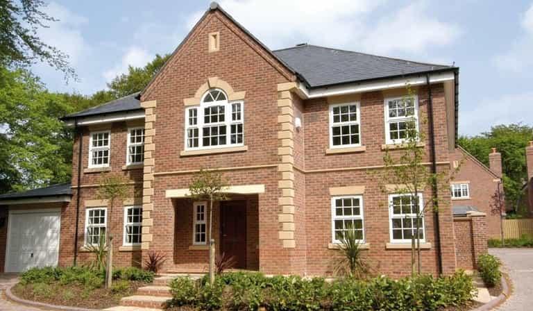 uPVC casement windows for large home