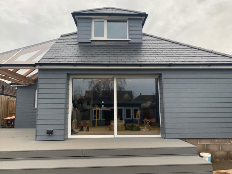 Grey Patio Doors Weymouth