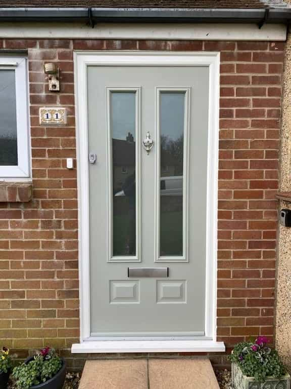 Coloured uPVC Front Doors Dorset