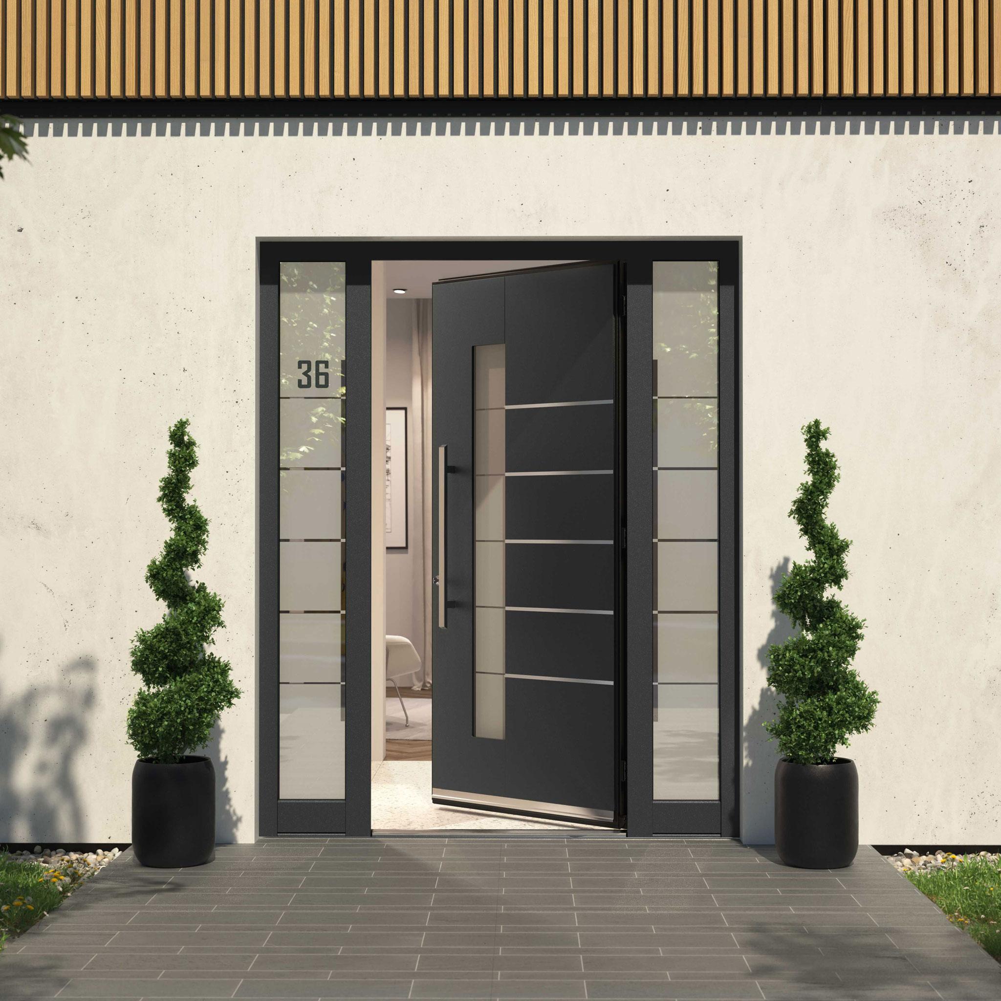 Double Front Door Dorset