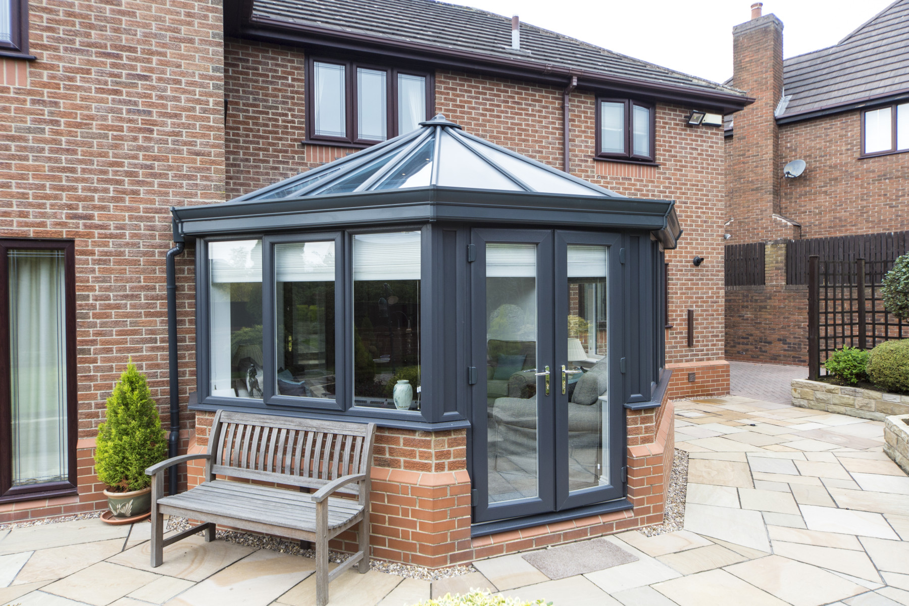 Insulated conservatory roof Dorset